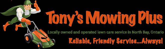 Tony's Mowing Plus